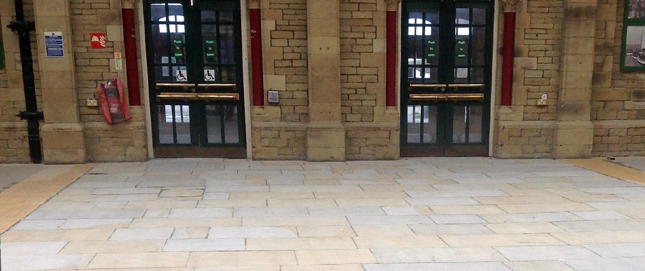 Example of work by our industrial flooring specialists